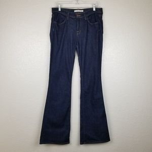J Brand Lexington High Rise Flare Jeans in Pure 29